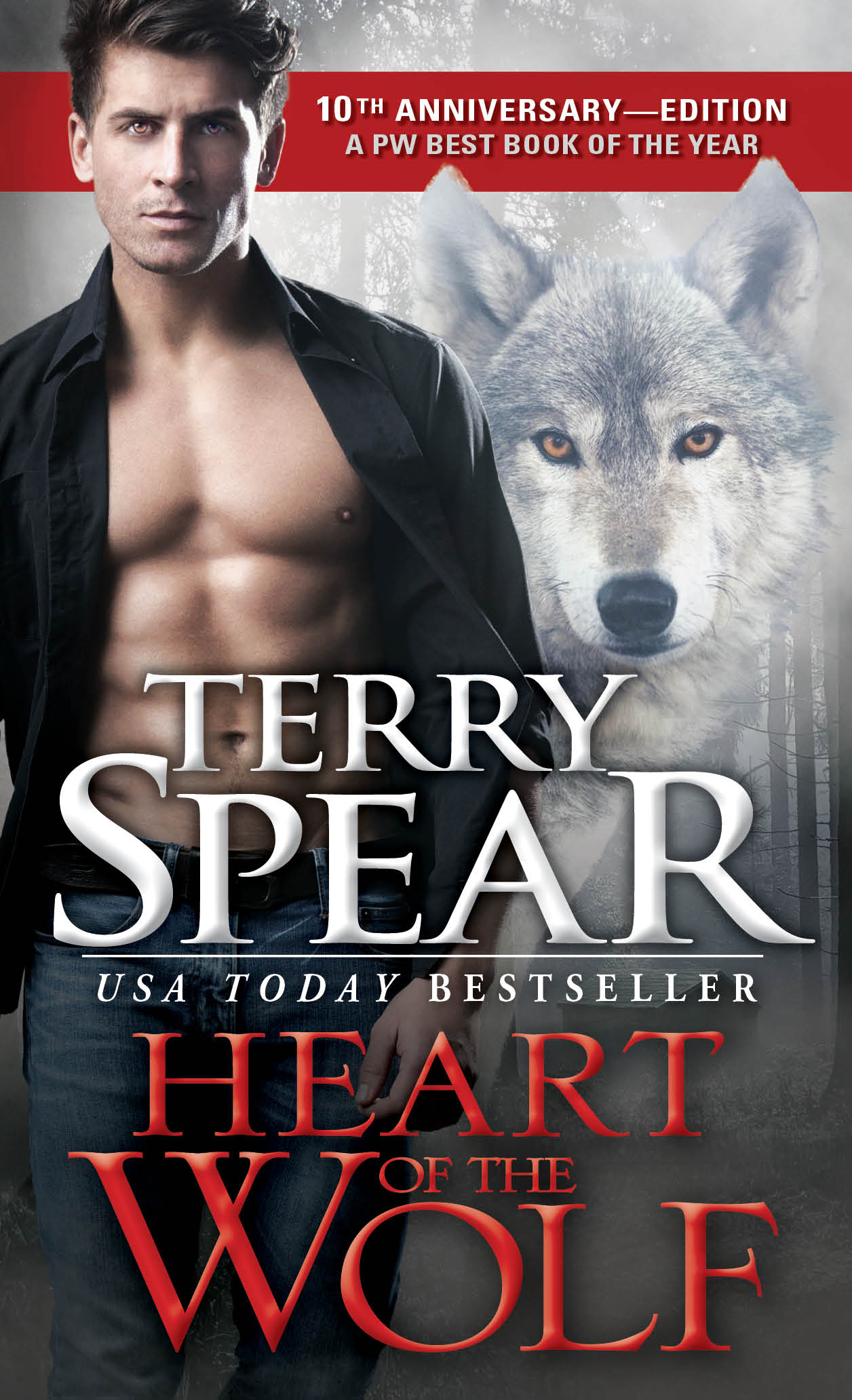 Heart of the Wolf 10th anniversary cover