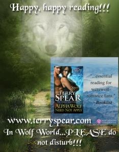 Alpha Wolf Need Not Apply Do Not Disturb Sign