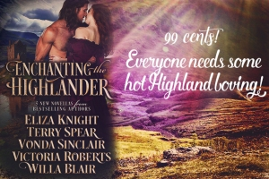 Enchanting the Highlander, Everyone needs some Highland Loving 600